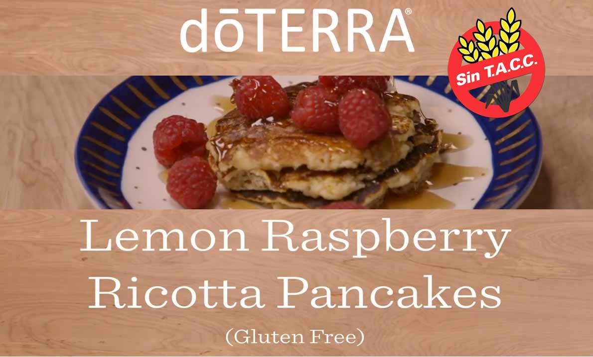 Receta Gluten Free de Panqueques con Aceite de Limón dōTERRA®