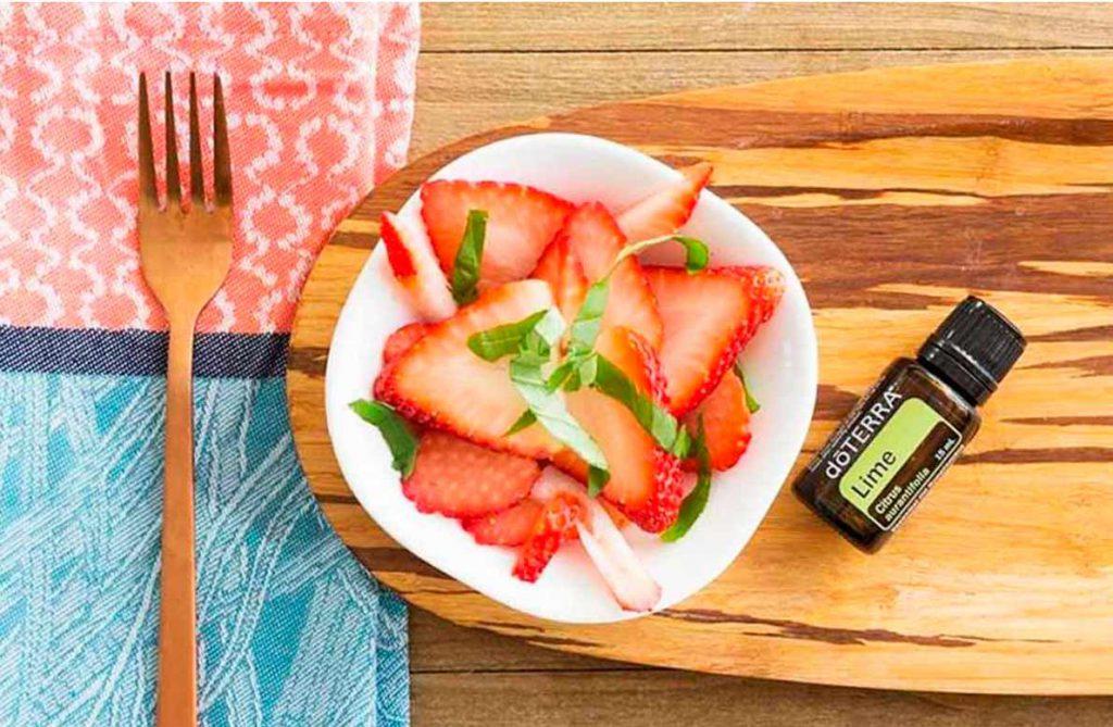 Deliciosos y nutritivos platos con Aceite Esencial de Lima dōTERRA®