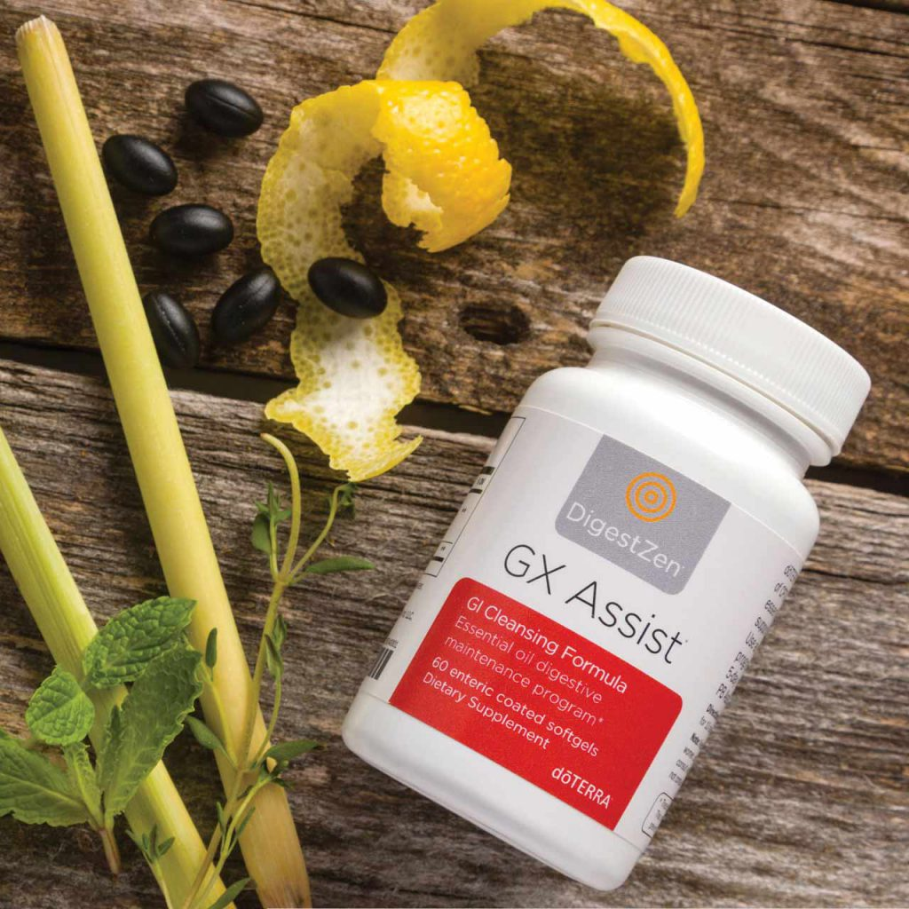 GX Assist® fórmula limpiadora gastrointestinal