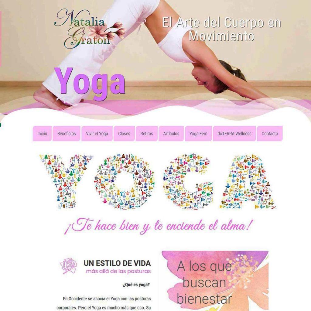 Natalia Graton Yoga. El Arte del cuerpo en Movimiento