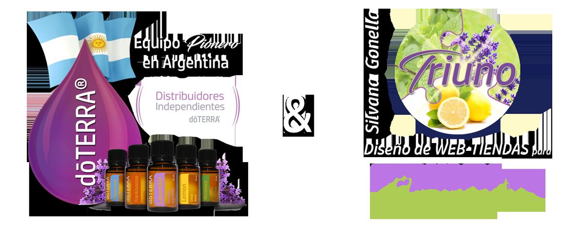 Alianza de Poder Equipo Pioneros doterra en Argentina y Triuno WEB TIENDAS para Emprendedores Esenciales