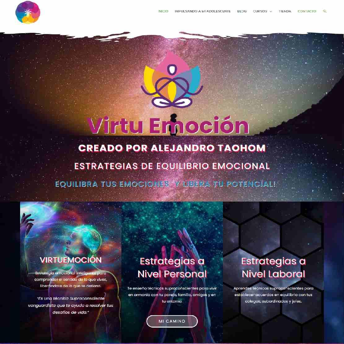 Alejandro Taohom Creador VirtuEmoción