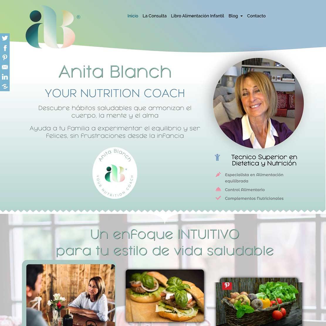 Anita Blanch YOUR NUTRITION COACH Descubre hábitos saludables que armonizan el cuerpo, la mente y el alma