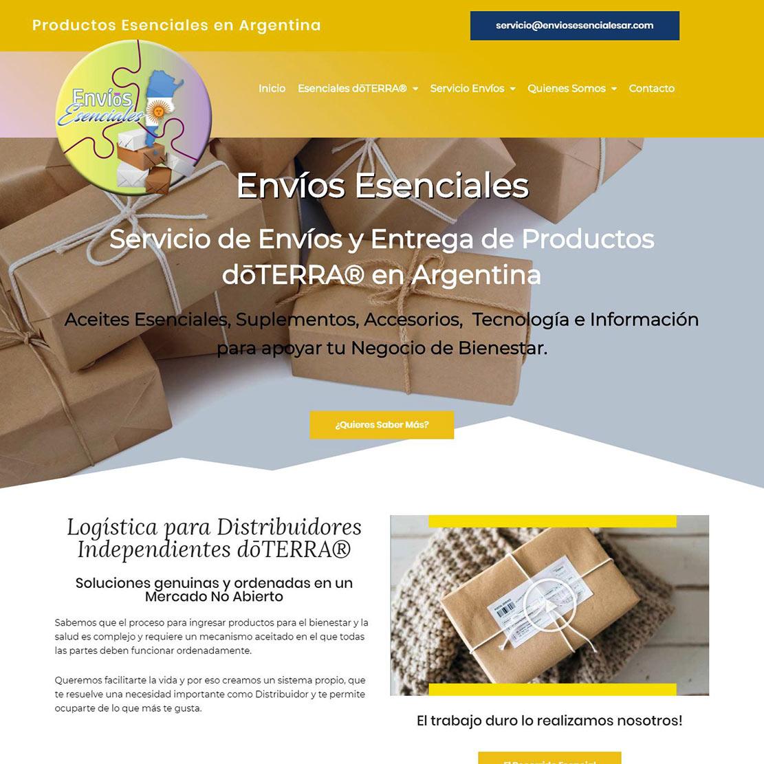 Envíos Esenciales Servicio de Envíos y Entrega de Productos dōTERRA® en Argentina