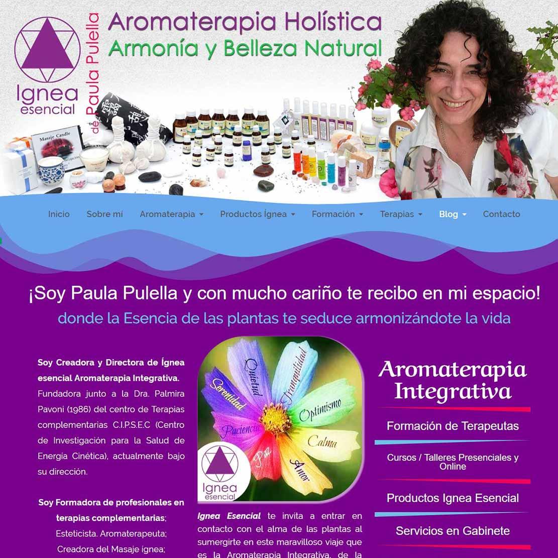 Ignea Esencial Aromaterapia Integrativa