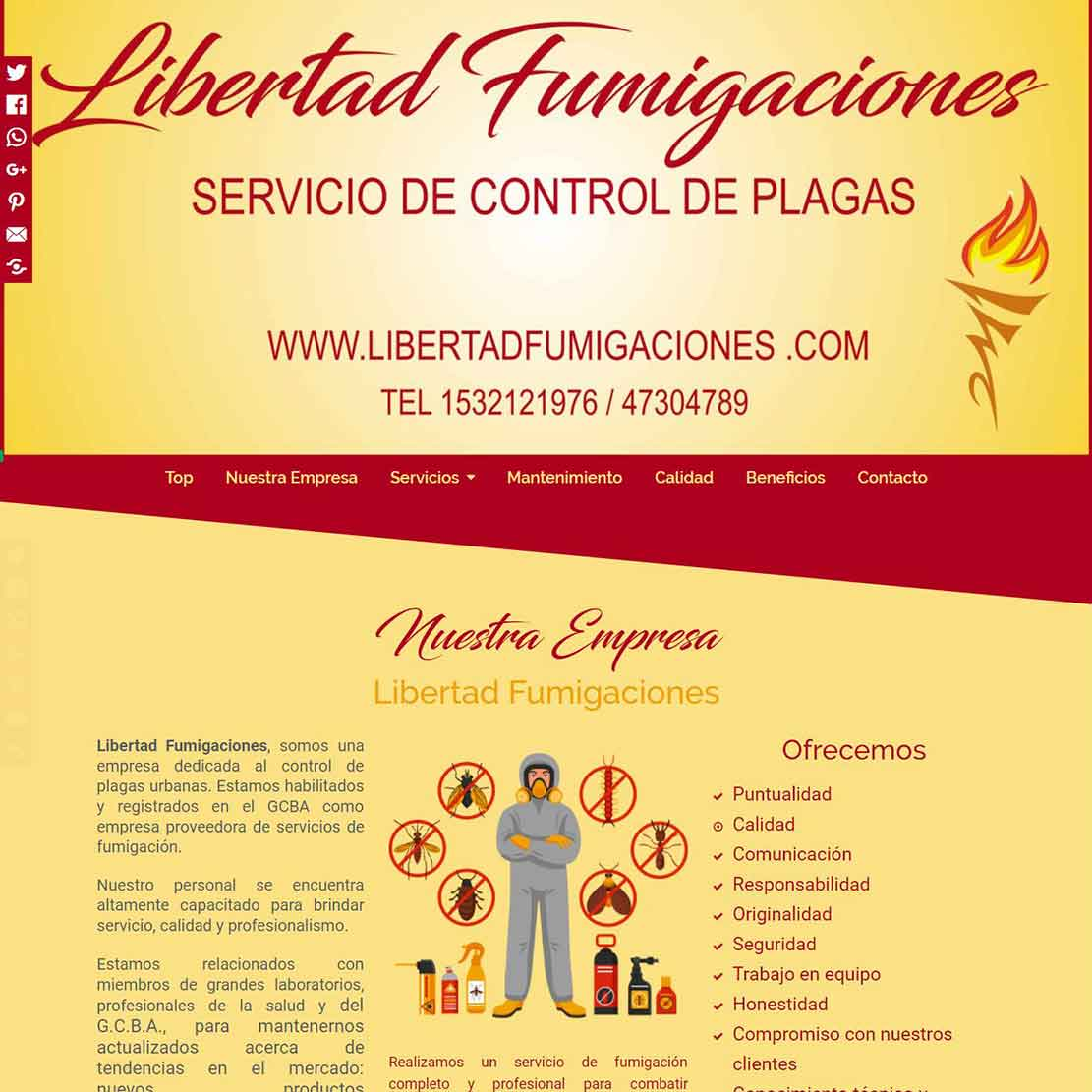 Servicio de control de plagas