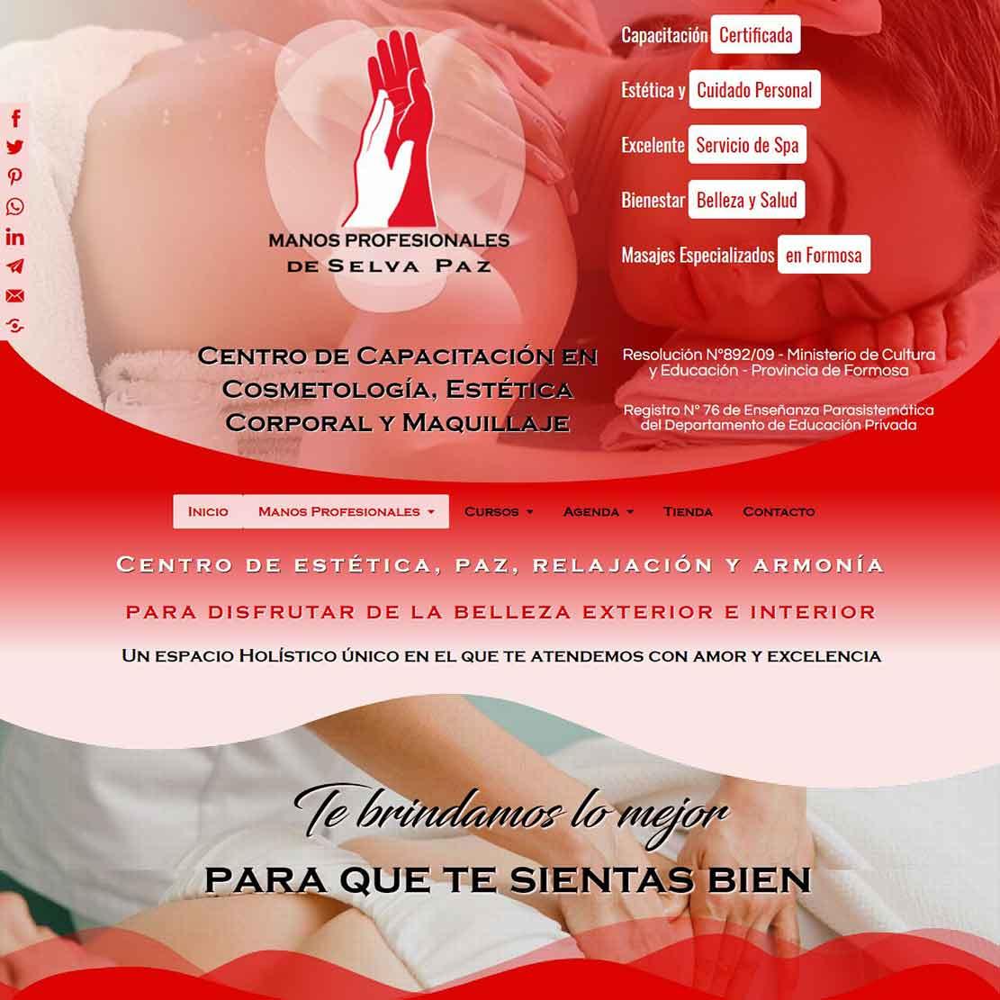 Manos Profesionales Centro de Capacitación en Cosmetología, Estética Corporal y Maquillaje