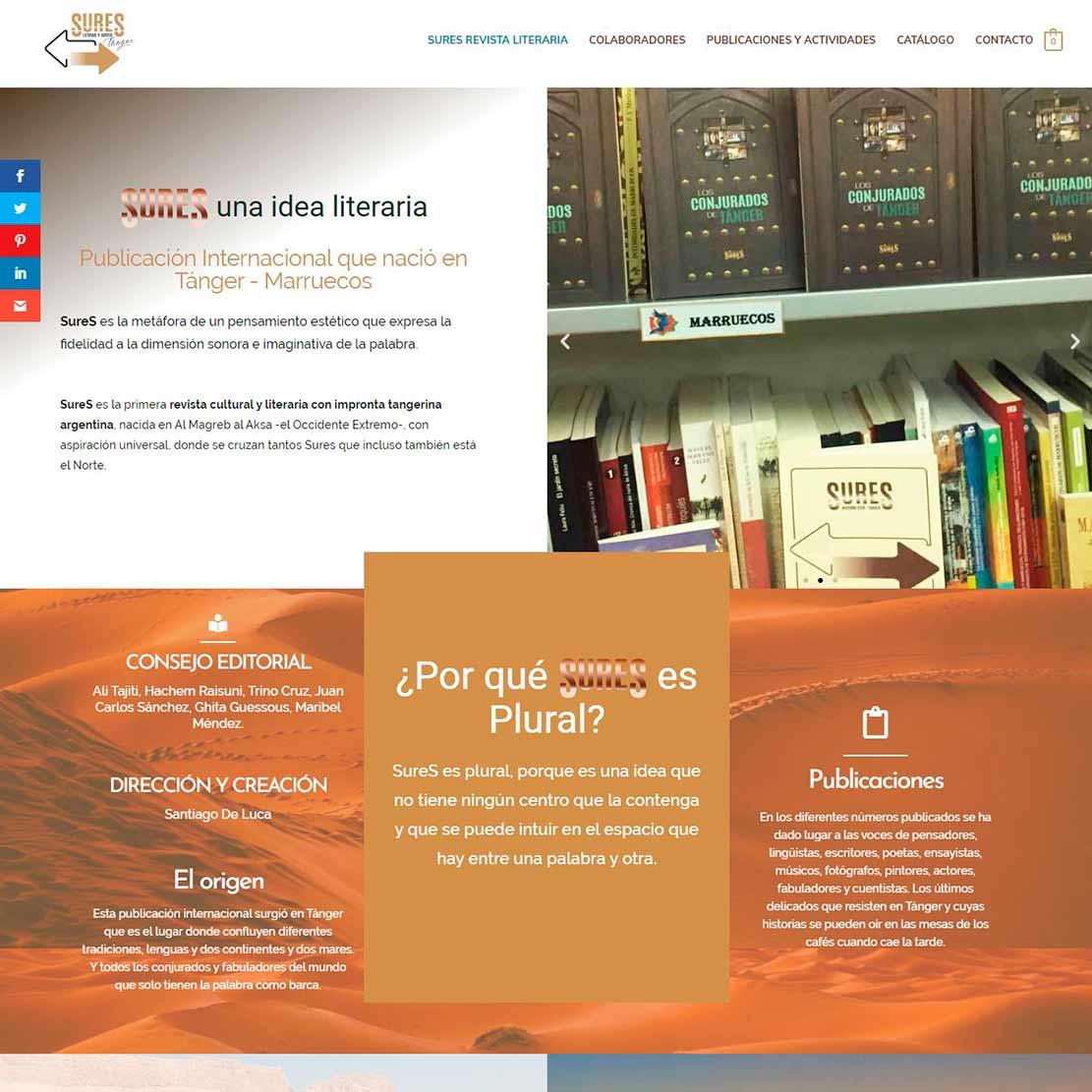 SureS Revista Literaria Tánger-Marruecos-Argentina