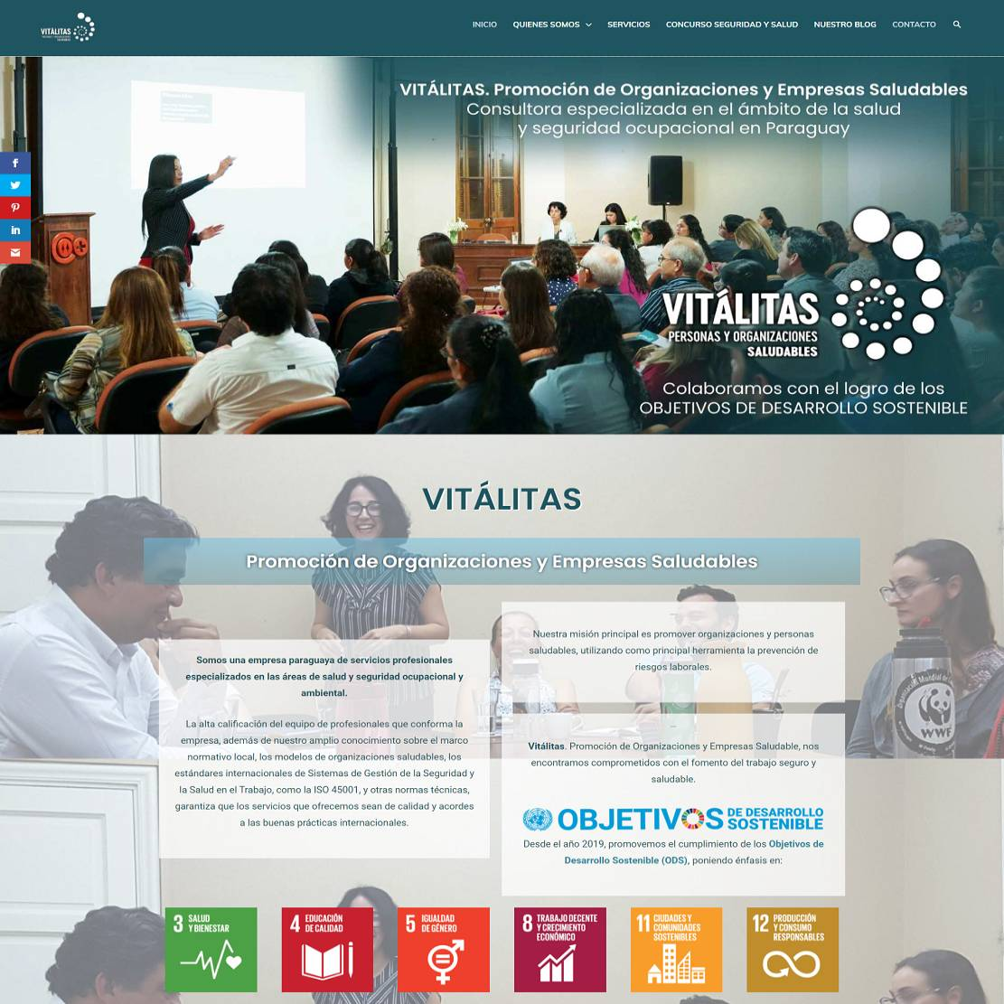 VITÁLITAS Promoción de organizaciones y personas saludables