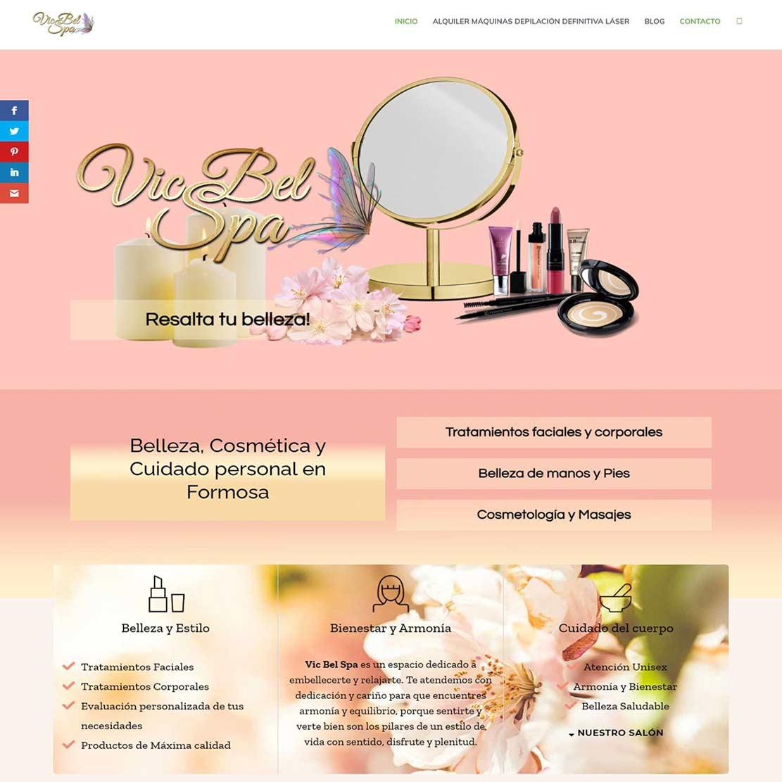 Vic Bel Spa Belleza, Cosmética y Cuidado personal en Formosa