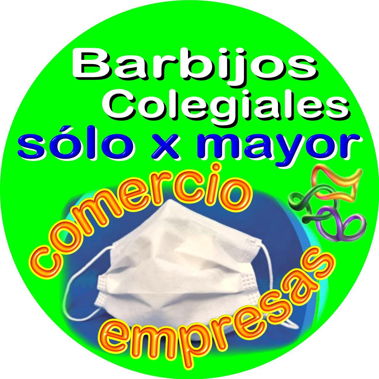 Barbijo tricapa de uso genérico: 100% impermeable. USO DÍA COMPLETO y REUTILIZABLE.